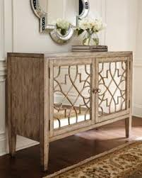 Quatrefoil Console Table Horchow Weathered Wood Mirrored Quatrefoil Console