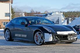 ferrari prototype refreshed ferrari ff prototype spied testing turbo power rumored