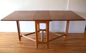 modern folding table mid century modern gateleg dining table picked vintage