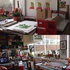 Home Design Studio Bristol by Kerry Day Mixed Media Artist