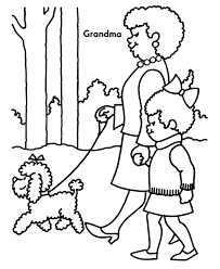 grandma thanksgiving coloring pages free printable coloring