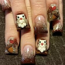 3d fall nail art gallery