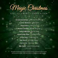 christmas holidays music party cd cover bundle by rapidgraf