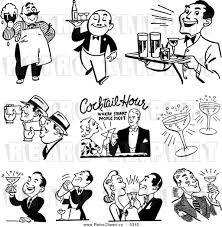 cocktail icon vector retro cocktails clipart 23
