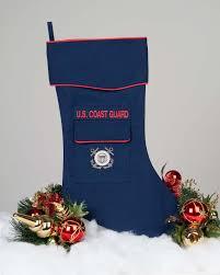 u s coast guard christmas stocking by camosock