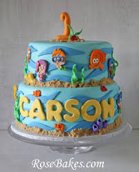 Bubble Guppies Decorations Bubble Guppies Birthday U0026 Smash Cake