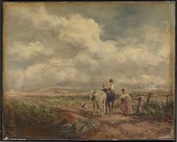 the road across the common u0027 david cox 1853 tate