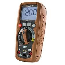 shop southwire digital 600 volt multimeter meter at lowes com