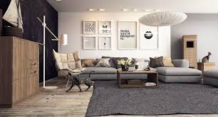 Floor Lamp Living Room A Cool Neutral Color Palette Keeps This Living Room Simply Chic