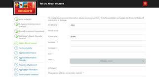 mcdonald u0027s job application adobe pdf apply online
