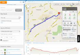 Map Run Route by Map My Run Map Jpg
