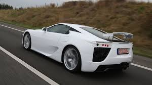 lexus lfa electric toyota exploring all electric supercar following sls e cell and