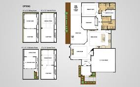 Floor Plan Pdf Models Olde Towne Village Epcon Communities