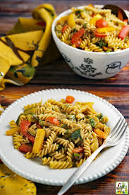 pasta salad with roasted vegetables this mama cooks on a diet