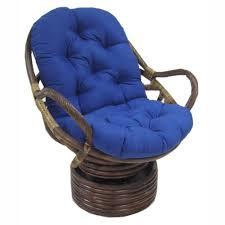 Swivel Rocking Chair Parts Blazing Needles 48 X 24 In Swivel Rocker Outdoor Cushion Hayneedle