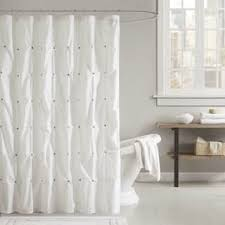 Eyelet Shower Curtains White Cotton Shower Curtains For Less Overstock Com Vibrant Fabric
