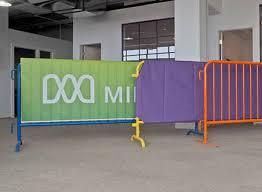 Versare Room Divider Portable Barricades U0026 Security Gates