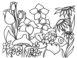 Free Spring Coloring Pages Bebo Pandco Printable Coloring Pages