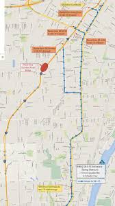 Metro Detroit Map by Southbound I 75 To Close Between Detroit And Downriver For Two