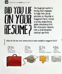 fibbed resume infographics lying on a resume some truths about lying on resumes for boomers only