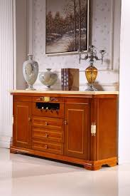 Living Room Console Tables Wooden Console Table Side Cabinet Storage Drawer Marble Top Made