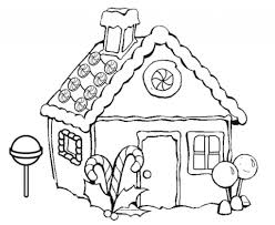 gingerbread houses coloring pages aecost net aecost net