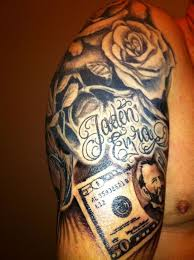 19 best money tattoo designs images on pinterest men tattoos