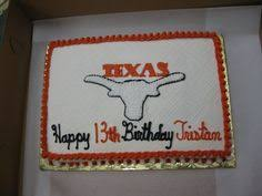 texas longhorns birthday cake griswold u0027s handcrafted confections