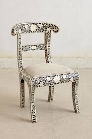 Anthropologie Dining Chairs Bone Inlay Chair Anthropologie