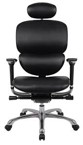 Leather Office Chair Front Leather Orthopaedic Office Chair Wave Great Comfort And Stylish