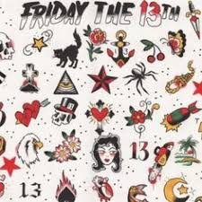 friday the 13th tattoos search tats 13