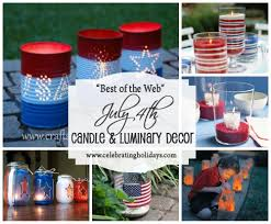 july 4th decorations candle and luminary diy decorating for july 4th celebrating holidays