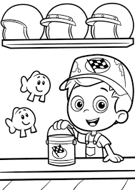 cartoon bubble guppies coloring pages cartoon coloring pages