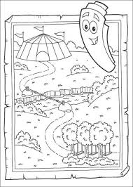 dora coloring pages 5 pictures dora123 games