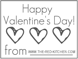 red kitchen 3 free fun valentine u0027s printables