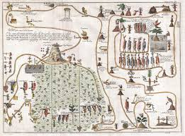 Migration Map File 1704 Gemelli Map Of The Aztec Migration From Aztlan To