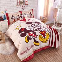 Mickey Mouse King Size Duvet Cover Wholesale Mickey Mouse Bedding Set Buy Cheap Mickey Mouse