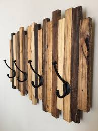 coat rack wood art by standardwoodco on etsy home decor
