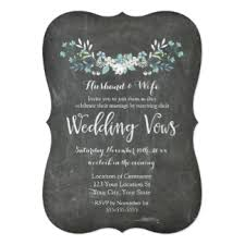 vow renewal invitations vow renewals gifts on zazzle