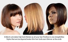 pictures ofhaircuts that make your hair look thicker hairstyles for thinning hair boostnblend uk