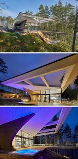 house design architecture the shape of this house in finland was inspired by the design of