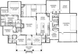 monster floor plans southern style house plans 4078 square foot home 1 story 4