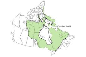 Physical Map Of Canada by Physiographic Regions The Canadian Encyclopedia