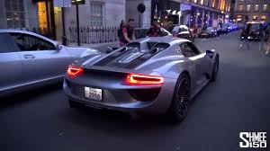 porsche 918 spyder interior the first customer porsche 918 spyder arrives in london