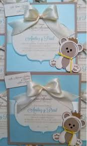 mis ideas u0026 creaciones by patty chalas bear baby shower invitations