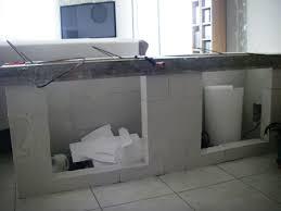 realiser une cuisine en siporex renovation baignoire with