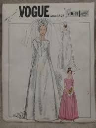 wedding dress sewing patterns 60s vintage vogue bridal gown sewing pattern mod sheath wedding dress