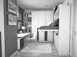 black and gray bedroom polished plain white flooring light black