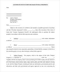 purchase letter of intent u2013 10 free word pdf format download