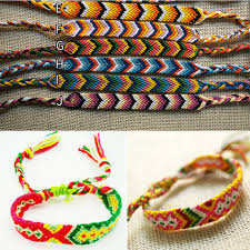 bracelet string images Wholesale 100 strings handmade positive vibes friendship bracelets jpg